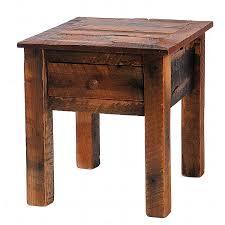 unique end table ideas rustic tables reclaimed furniture design ideas