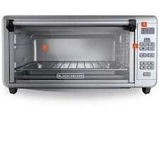 Black And Decker Home Toaster Oven Black Decker Digital Extra Wide Convection Toaster Oven To3290xsd