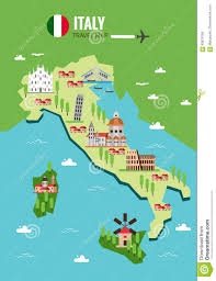 Map Venice Italy by Italy Travel Map Italian Colosseum Milan Venice Sicilia And