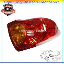 2010 toyota corolla brake light bulb new taill taillight hoods brake light left rear 42008990