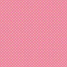 pink polka dots pattern on a yellow background royalty free stock
