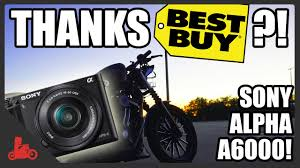 sony a6000 best buy black friday deals thanks best buy sony alpha a6000 harley iron 883 youtube