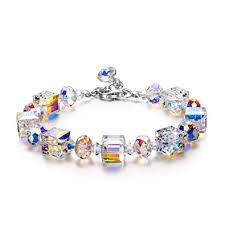 swarovski silver crystal bracelet images Lady colour crystal bracelet for women for her a jpg