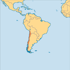 Map Chile Chile Operation World