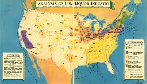 Map Of Kent State University by Cool Old Map How Did Your State Get Its Liquor During Prohibition