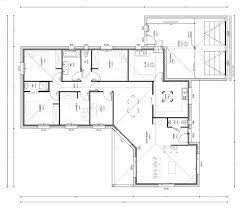 plan de maison plain pied 5 chambres plan maison 5 chambres gratuit wn13 jornalagora
