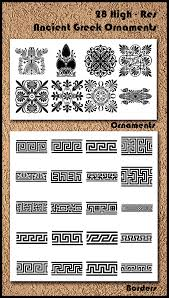 28 ancient ornaments brushes by fantasmagora graphicriver
