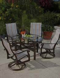 Patio Sling Chair Aluminum Patio Furniture Sling Furniture Today S Patio Pool