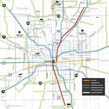 Indiana Road Map Indianapolis Highway Map Map Of Indianapolis Highway Indiana Usa