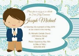 communion invitations for boys communion invitations boy personalised communion