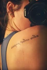 Latin Quote Tattoo Ideas Alis Volat Propriis Alis Volat Propriis Tattoo And Tatting