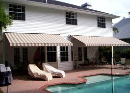 Home Awning Retractable Awnings U0026 Solar Screens Awning Cleaning Tampa Bay Area