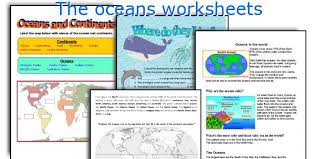 english teaching worksheets the oceans