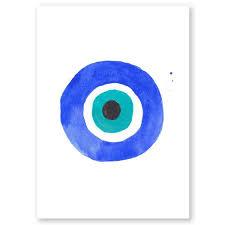 evil eye i mini print the aestate