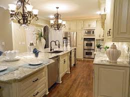 Traditional White Kitchens - kitchen small elegant white kitchen cabinets desing combine