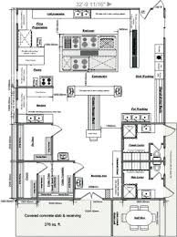 modren chinese restaurant kitchen layout cafe floor plan showing