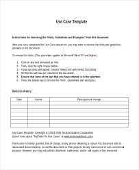 10 business case templates free sample example format free