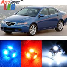 2004 Acura Tsx Interior Premium Interior Led Lights Package Upgrade For Acura Tsx 2009