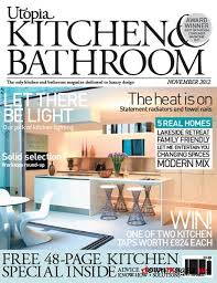designer kitchen and bathroom magazine