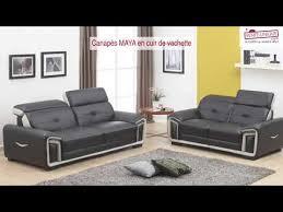 vente unique canapé canapés en cuir de vachette sur vente unique succombez au