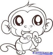 printable monkey coloring pages hanging monkey drawing google search baby pinterest monkey