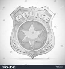vector police badge stock vector 109367618 shutterstock