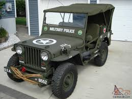 military jeep willys for sale 1946 cj2a u s army ww2 type military police style jeep w 50 caliber