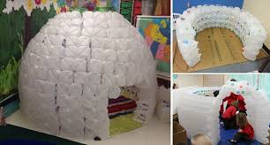 learn how to build a full size milk jug igloo diy cozy home