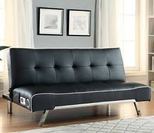 coaster 500139 black upholstered sofa bed built in bluetooth