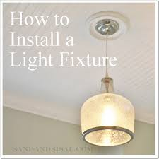 how much to install a light fixture how to install a light fixture sand and sisal
