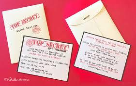 top secret report template printable invitations onecreativemommy