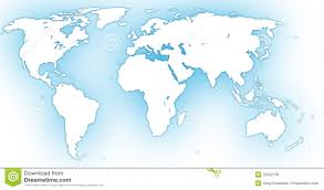 Free Vector World Map by World Map Royalty Free Stock Images Image 25552759