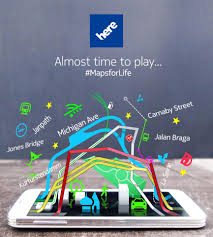 nokia releases here maps android google play store