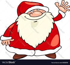 santa claus christmas cartoon royalty free vector image