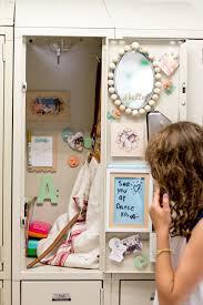 diy kids lockers diy locker decorations wooden frames notepad flax twine