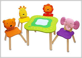 kids animal table and chairs cute table and chairs activity set for juniors