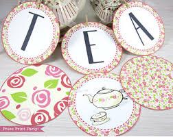 High Tea Party Decorating Ideas High Tea Etsy