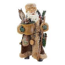 kurt adler 10 woodland santa 7870867 hsn
