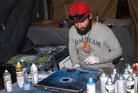 Spray Paint Artist - check out these spray paint artists at the fair east idaho news