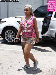 blac chyna u0027s racy maternity wear flashes green bra on lunch date