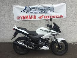 honda cbf used honda cbf 125 2015 15 motorcycle for sale in aberdeenshire