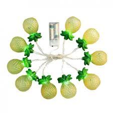 Pineapple Home Decor Ball Lights String Led Bulb String Light Battery Opetated Lamp