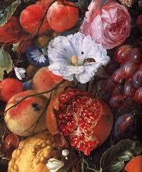 fruit and flowers file jan davidsz de heem festoon of fruit and flowers detail