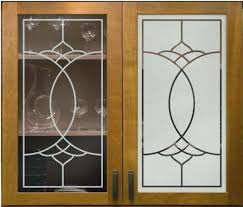 Kitchen Cabinet Glass Door Design Frosted Glass Designs For Kitchen Cabinets Decorative Kitchen