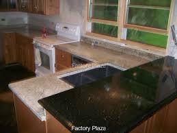 granite countertop all wood cabinets temporary backsplash for
