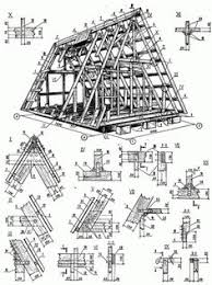 aframe house plans free a frame cabin plans blueprints construction documents sds