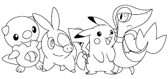 printable free cartoon pokemon coloring sheets toddler 40519