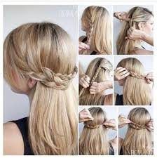 braided hairstyles for thin hair hairstyles for school for thin hair cute half up braid hairstyles