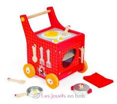 cuisine mademoiselle janod chariot de cuisine the cocotte janod j06544