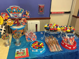 paw patrol candy table ideas paw patrol candy table ideas lovely paw patrol party sweet table